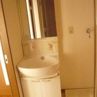 洗面台 室内洗濯機置き場