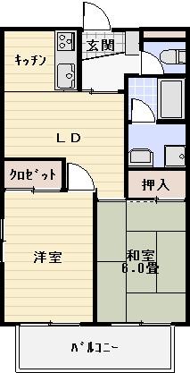 1Fはバルコニーなし  ※間取り図が現状と異なる場合は現状を優先とします(間取)