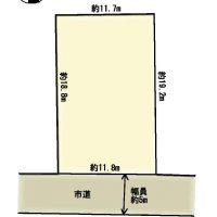 呉竹町1丁目売土地(仲介)