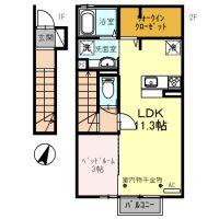 ☆新築☆ ヒーリングポート 203号室
