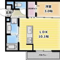 フラン・ルフレ 104号室
